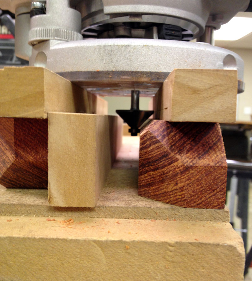 Chamfer Routing