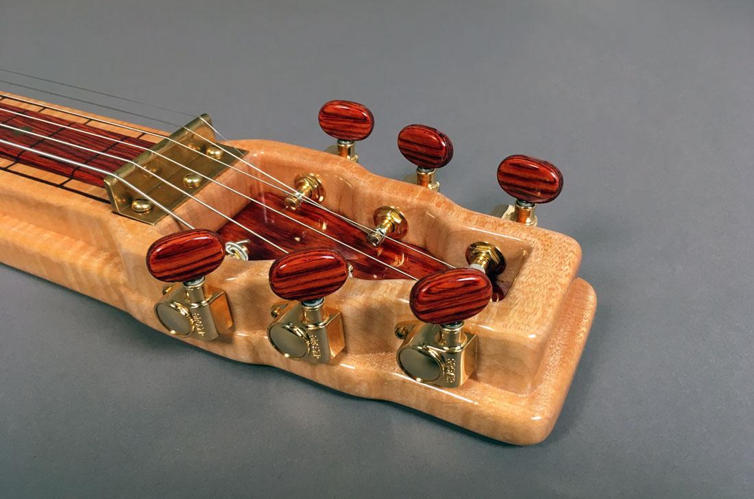 Lap Steel Guitar Headstock