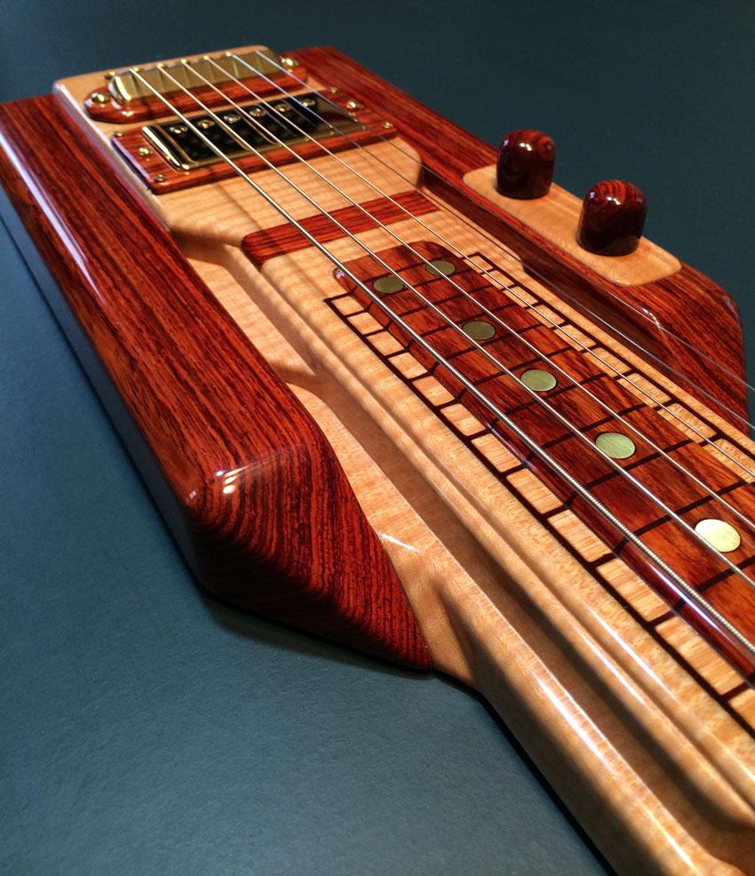 Lap Steel Guitar Close-up 2