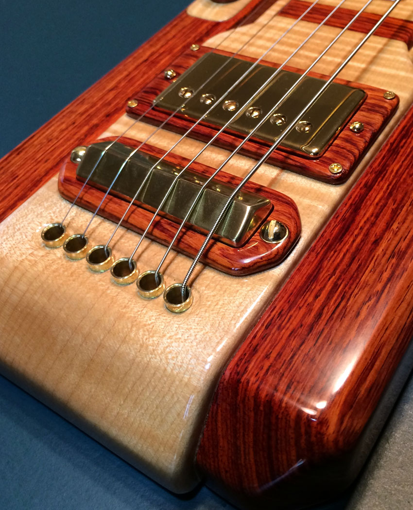 Lap Steel Guitar Close-up