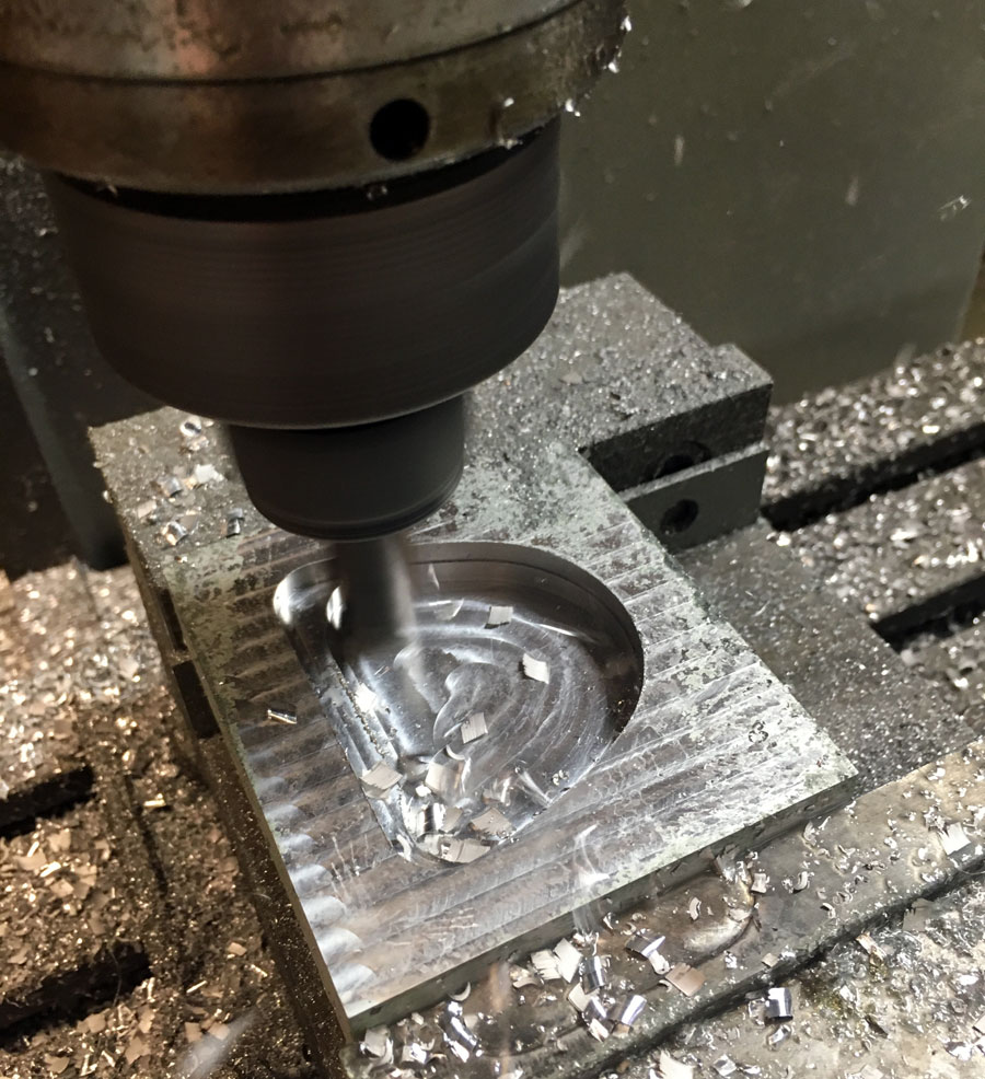Milling the Mold Shell