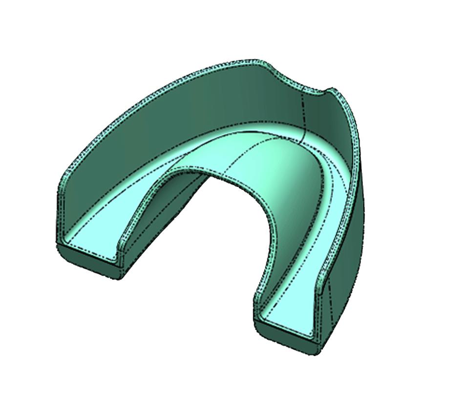 Mouthguard CAD