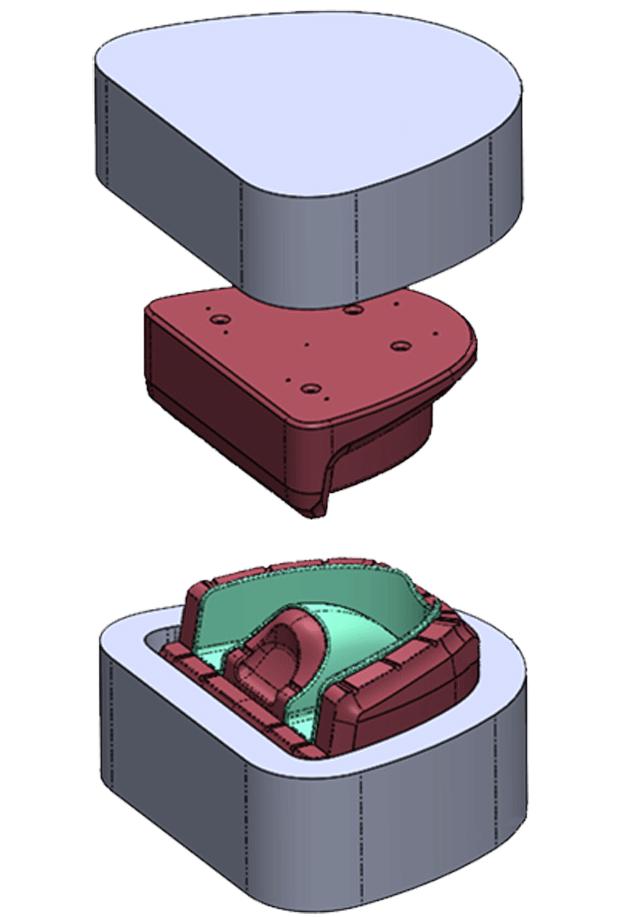 Mouthguard Mold CAD